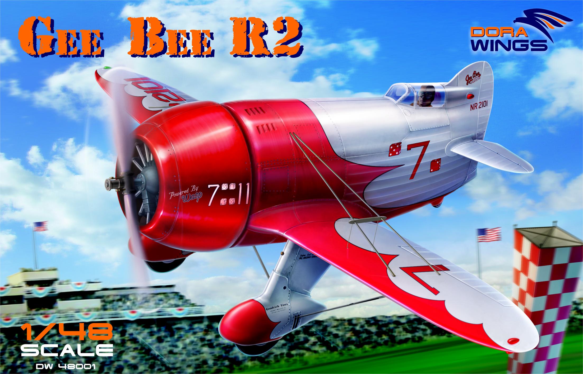 Dora Wings Gee Bee Super Sportster R-2