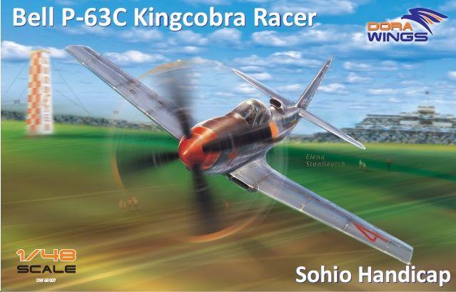 Dora Wings Bell P-63C Kingcobra Racer