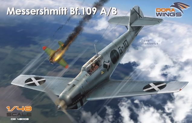 Dora Wings Messershmitt Bf.109 A