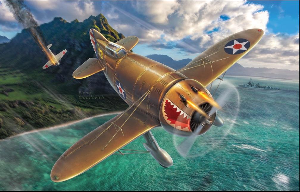 "Dora Wings Granville P-45B ""Bee Killer"" (What if..?)"