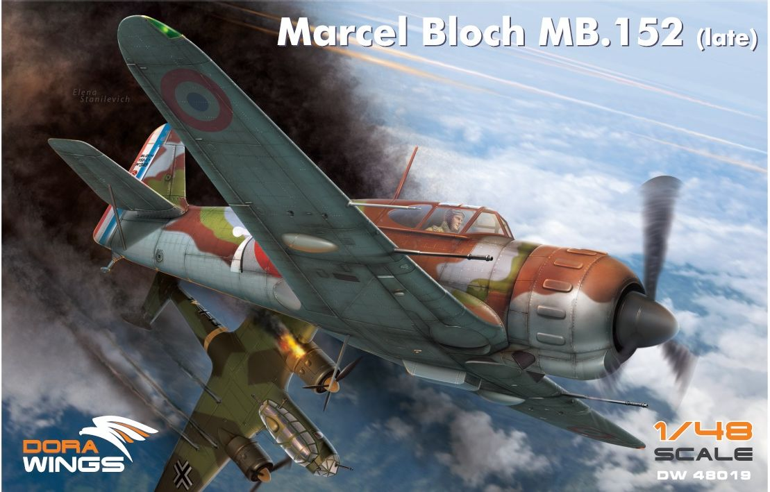 Dora Wings Bloch MB.152C.1