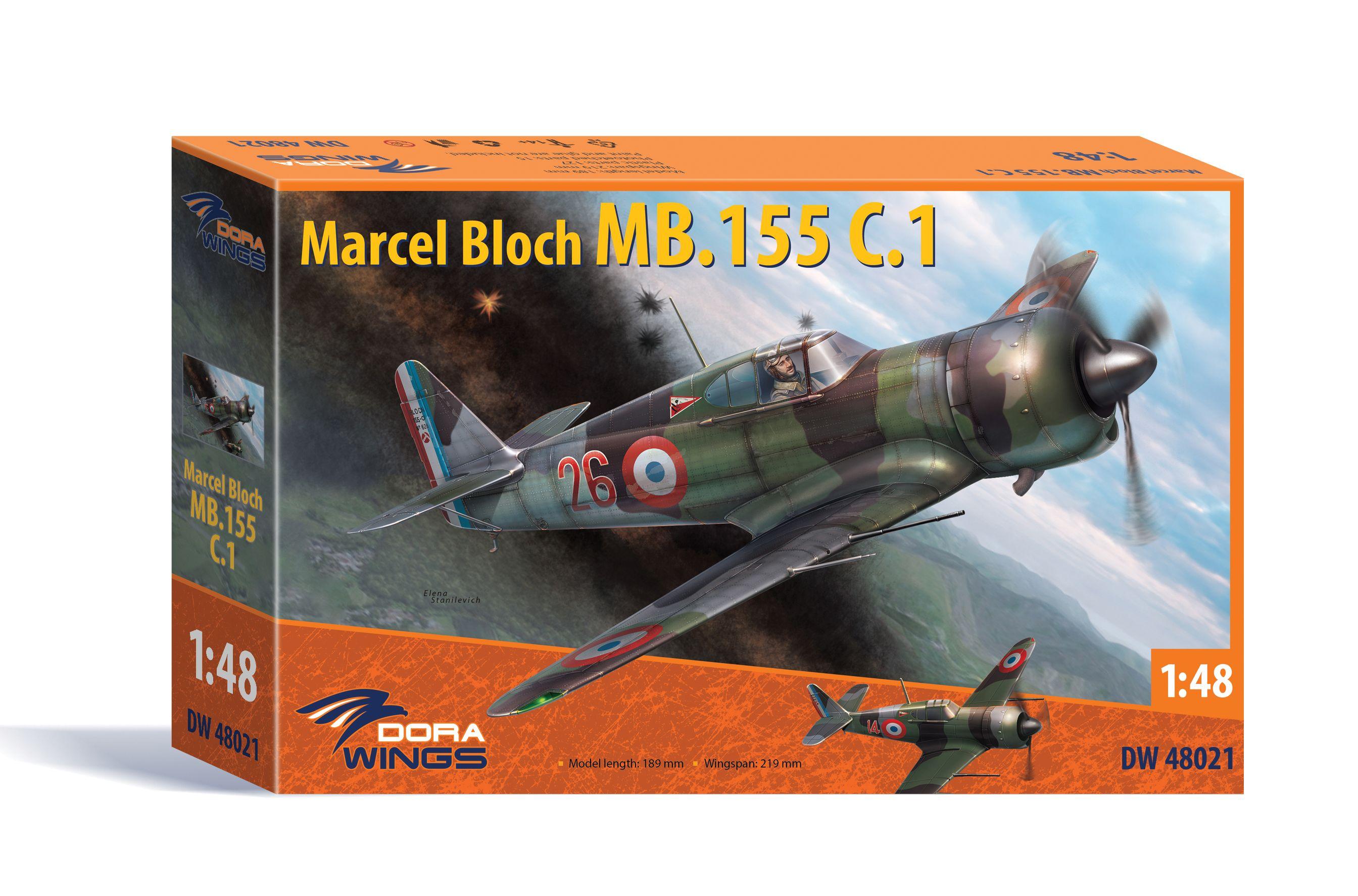 Dora Wings Bloch MB.155C.1