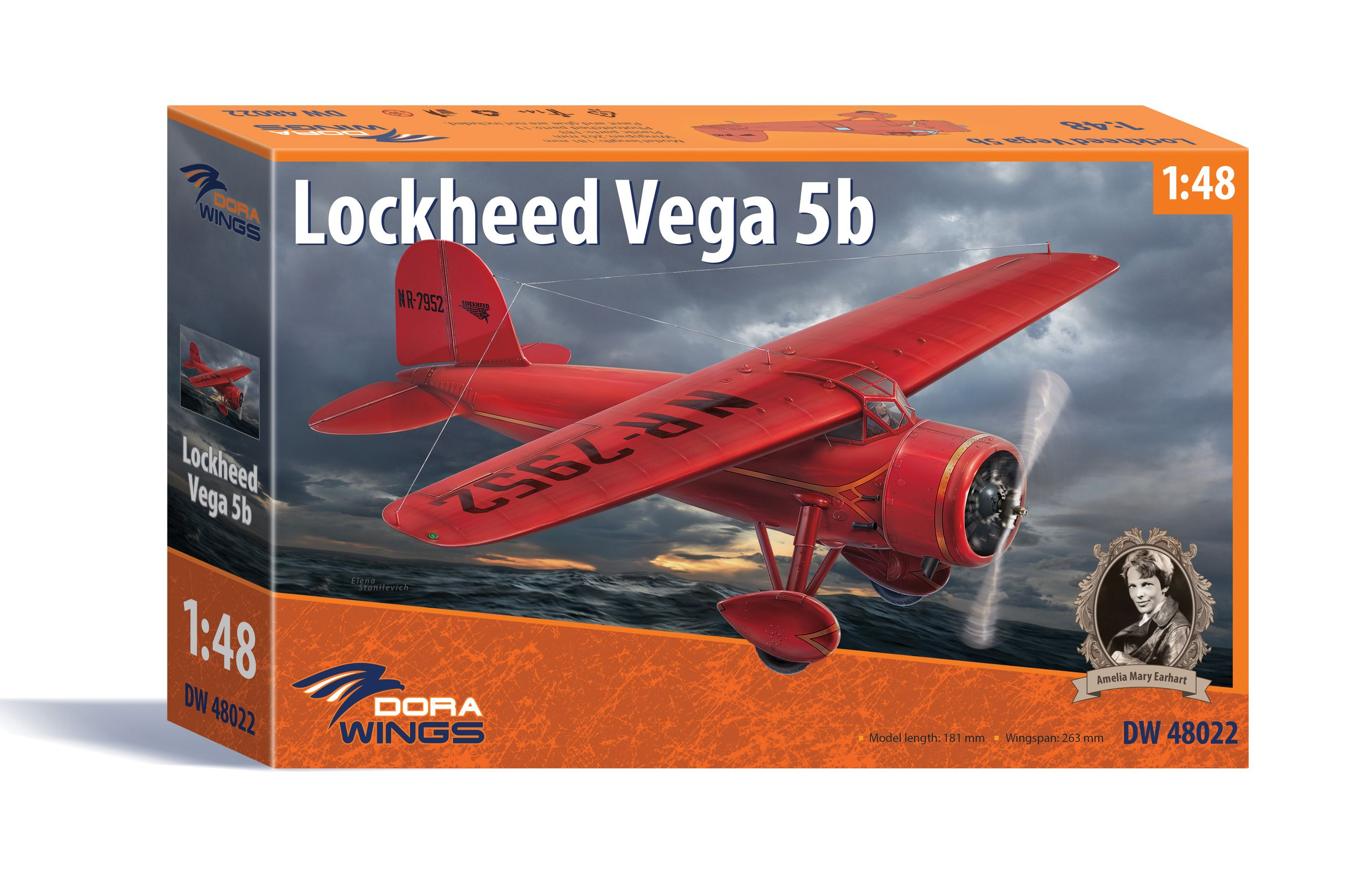"Dora Wings Lockheed Vega 5b ""Record flights"""