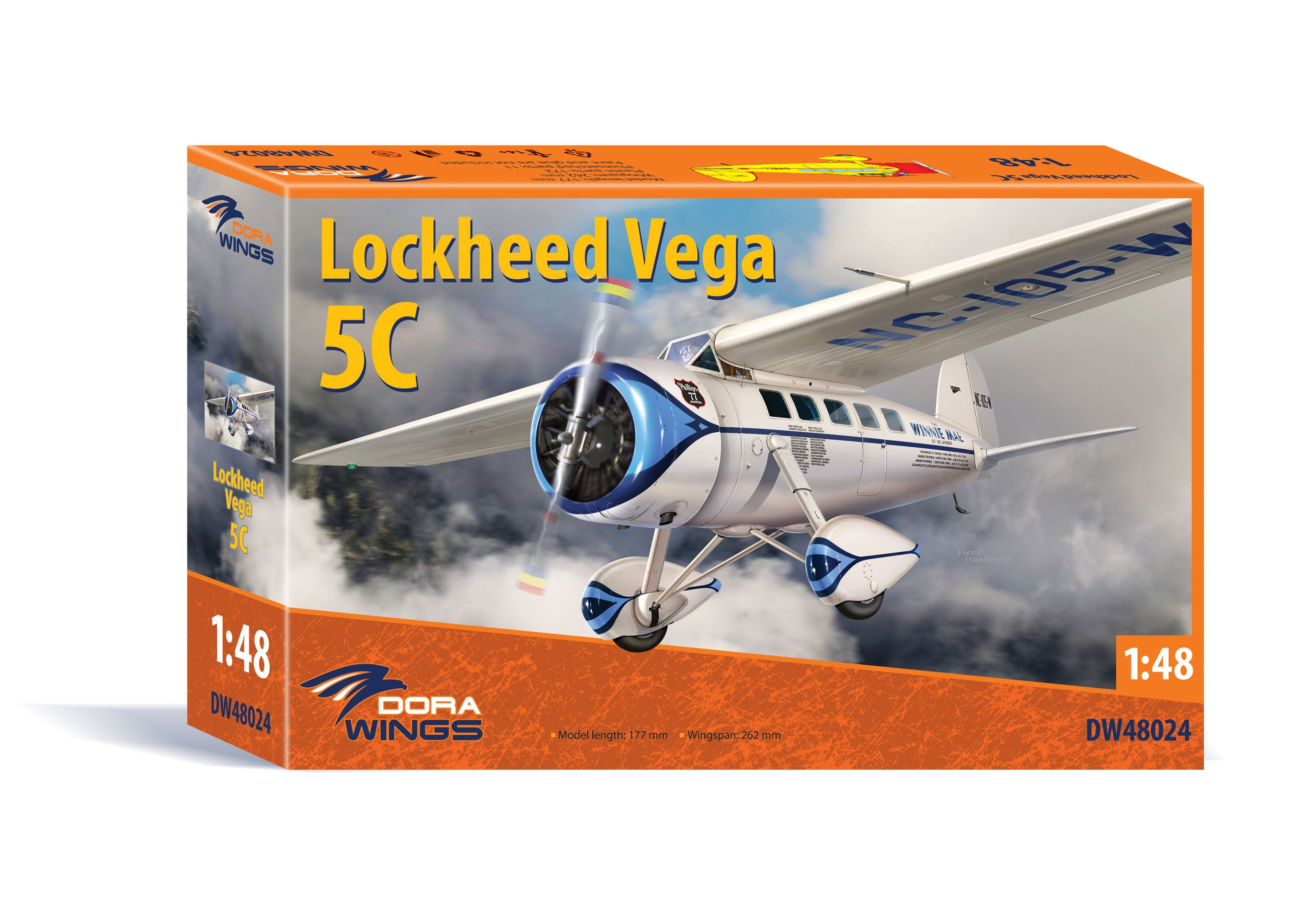Dora Wings 1/48 Scale Lockheed Vega 5C