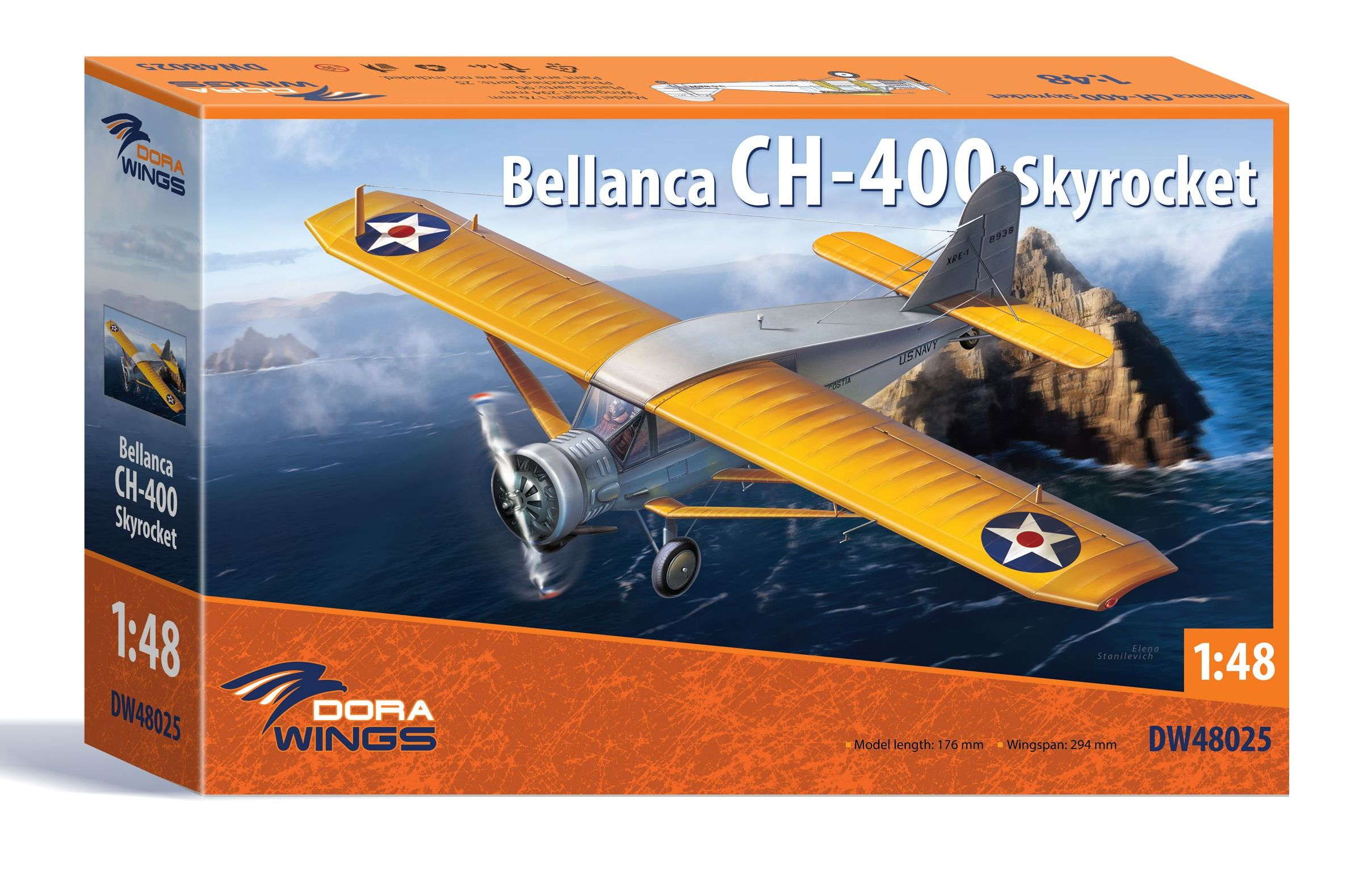 Dora Wings 1/48 Bellanca CH-400 Skyrocket
