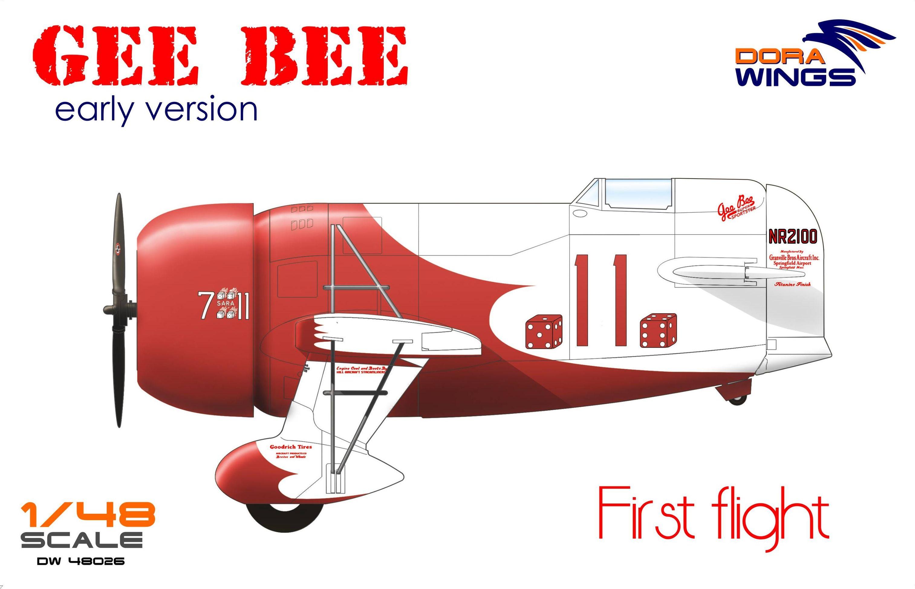 Dora Wings Gee Bee Super Sportster R-1 (early version)