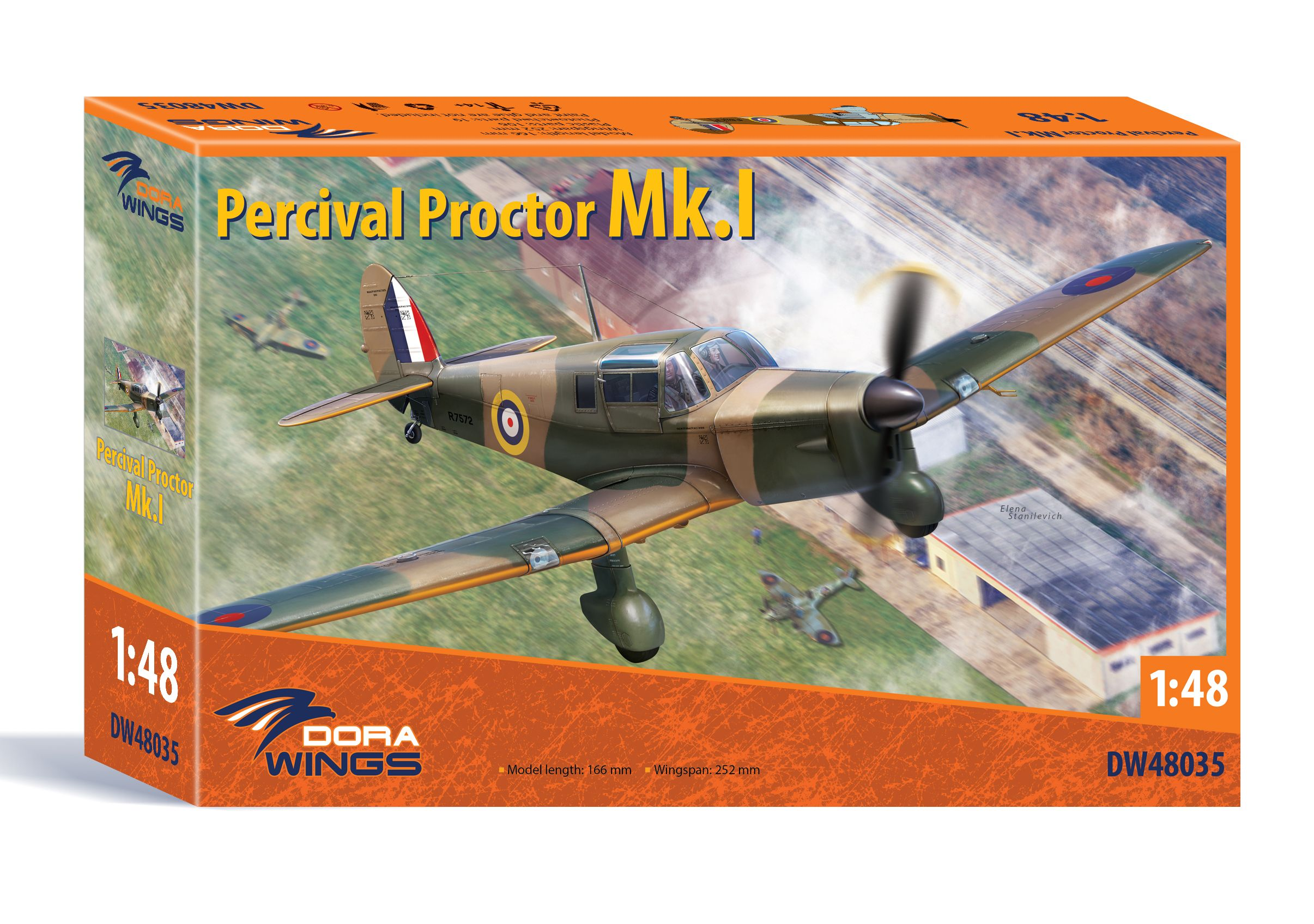 Dora Wings Percival Proctor Mk.I
