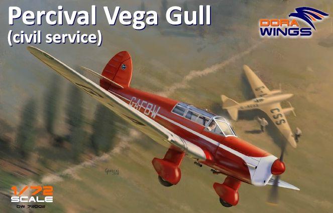 Dora Wings Percival Vega Gull (civil registration)