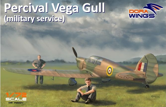 Dora Wings Percival Vega Gull (military service)