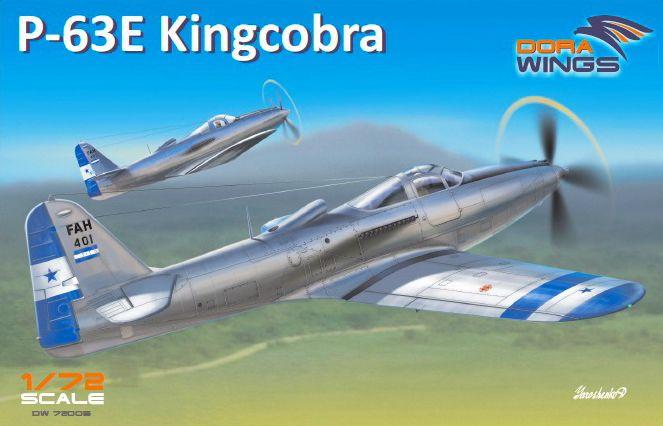 Dora Wings Bell P-63E-1-BE Kingcobra