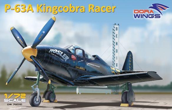 Dora Wings Bell P-63A Kingcobra Racer (Sohio Handicap)