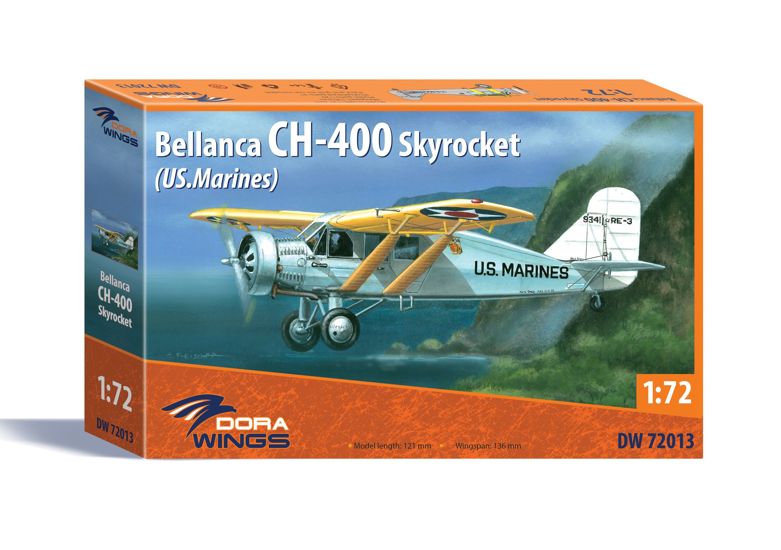 Dora Wings Bellanca CH-400 Skyrocket