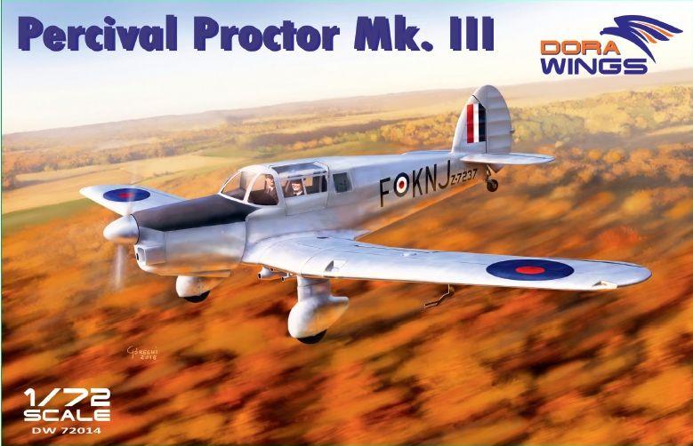 Dora Wings Percival Proctor Mk.III