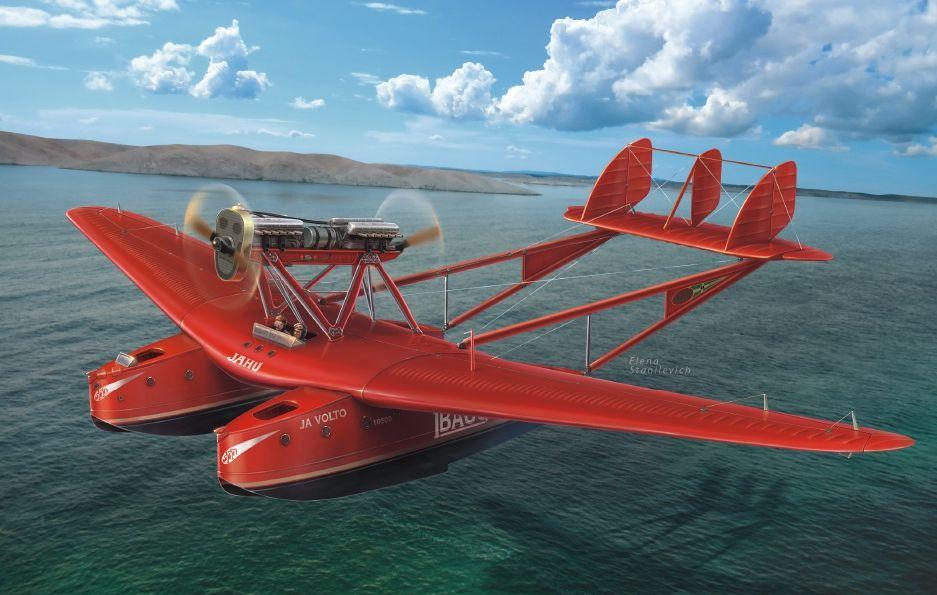 """Dora Wings Savoia-Marchetti S.55 """"Record flights"""""""