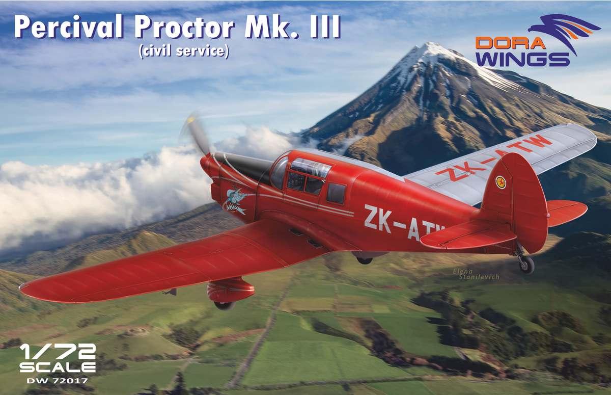 Dora Wings Percival Proctor Mk.III (civil registration)