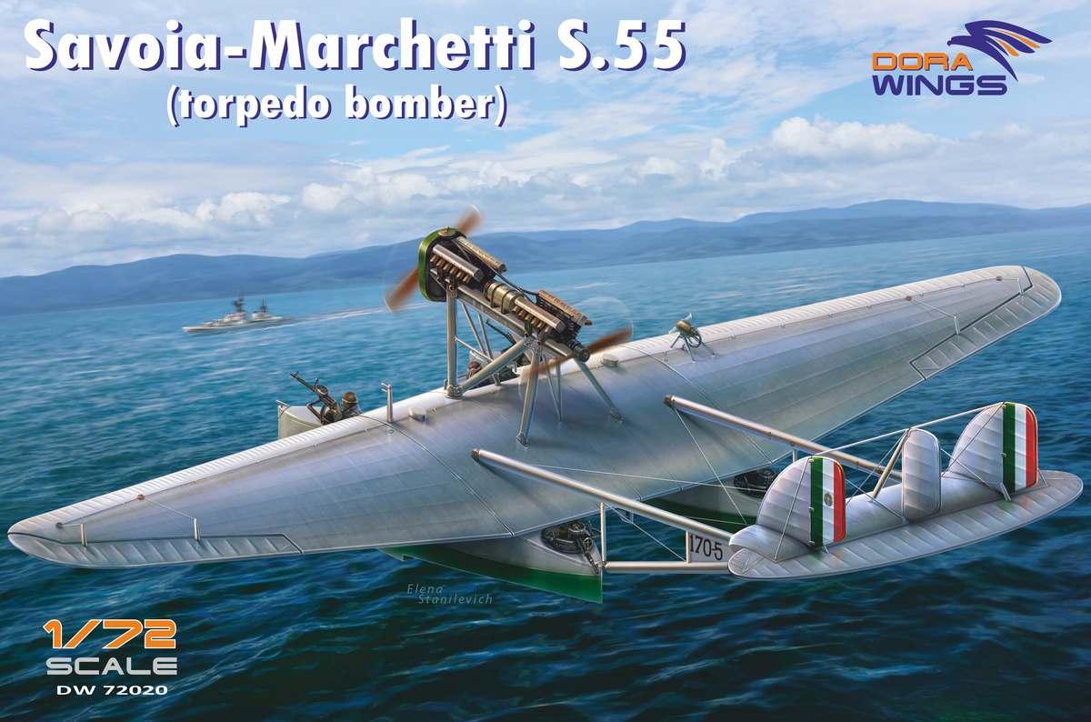 Dora Wings Savoia-Marchetti S.55 (torpedo bomber)