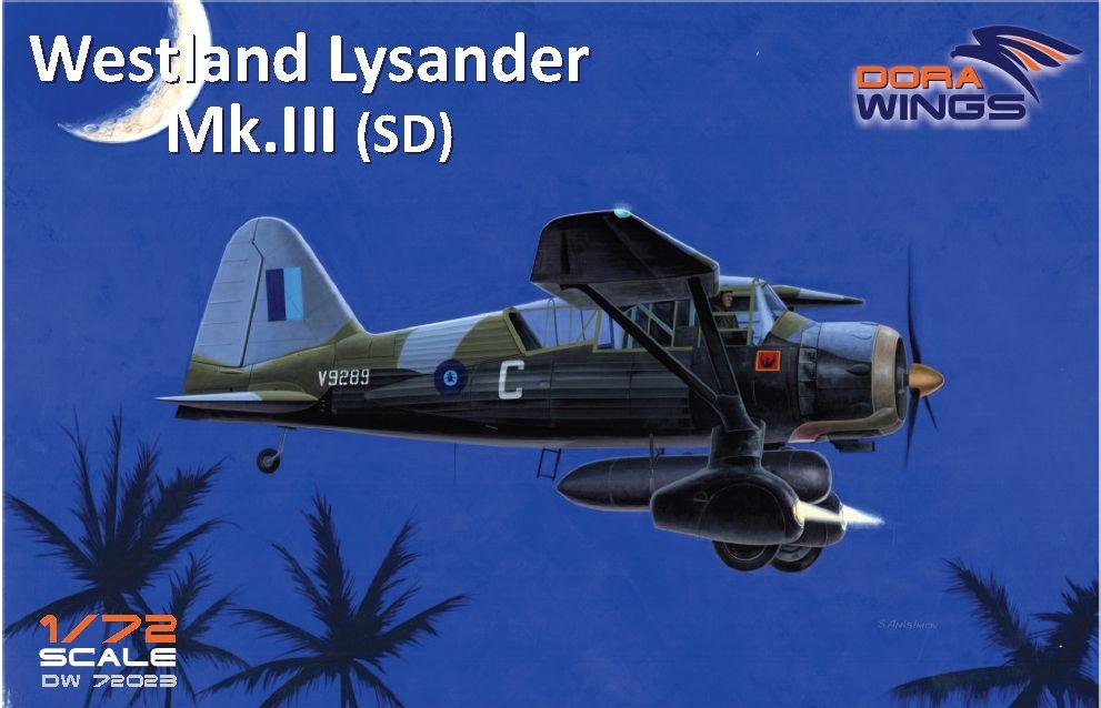 Dora Wings Westland Lysander Mk.III (SD)