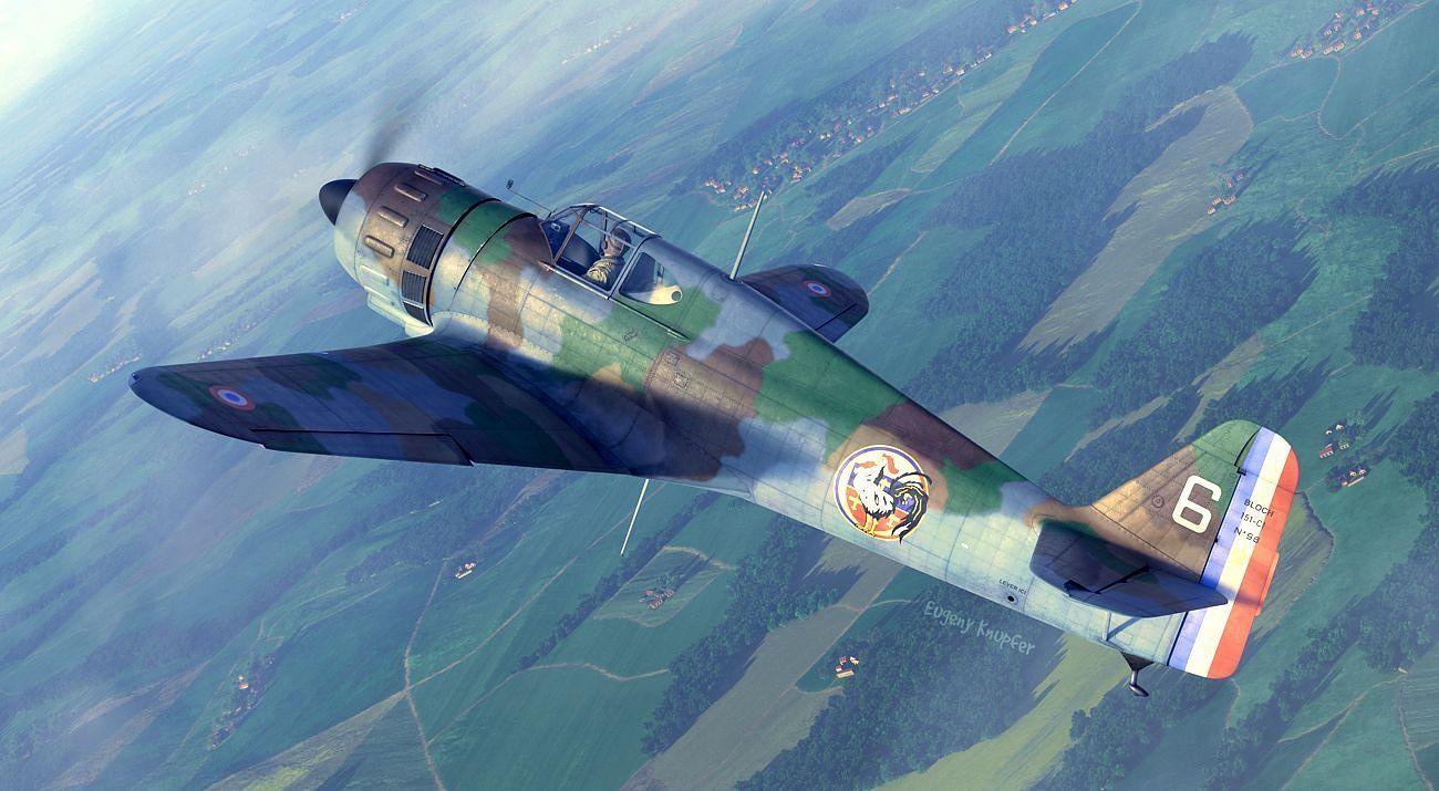 Dora Wings 1/72 Bloch MB.l 51C. 1