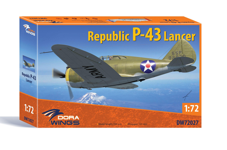 Dora Wings 1/72 Republic P-43 Lancer