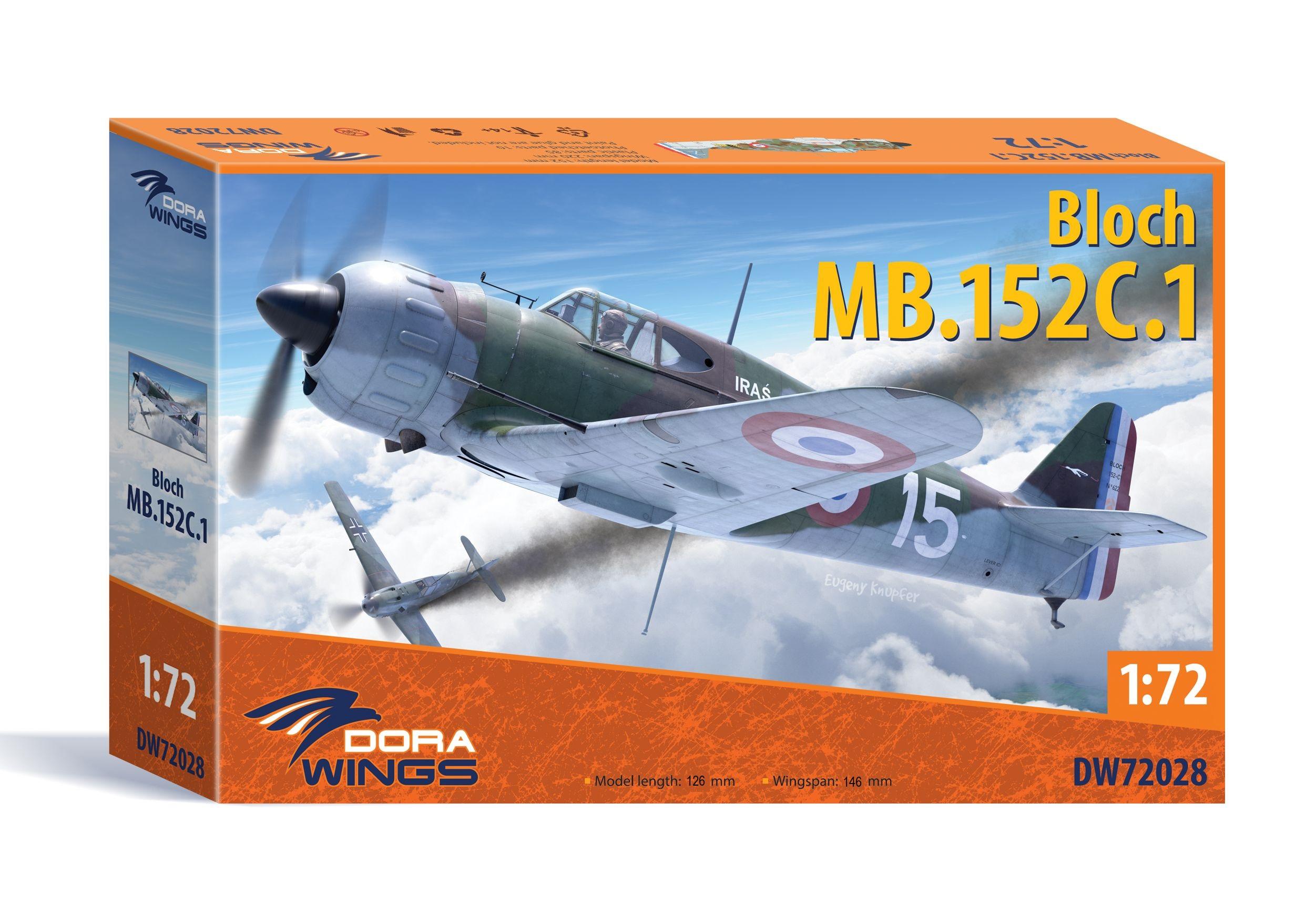 Dora Wings 1/72 Bloch MB.152(late)