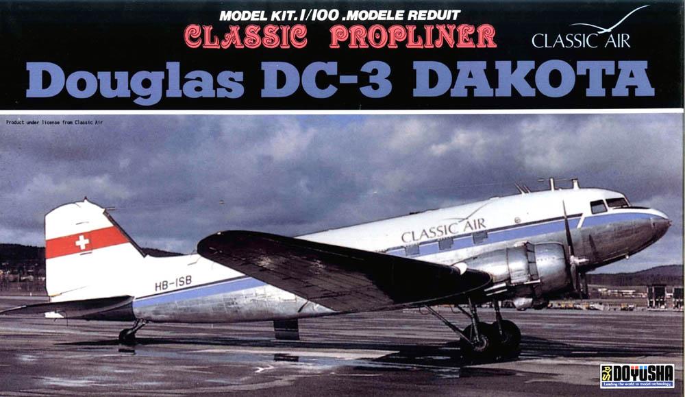 Doyusha 1/100 DOUGLAS DC-3 CLASSIC AIR