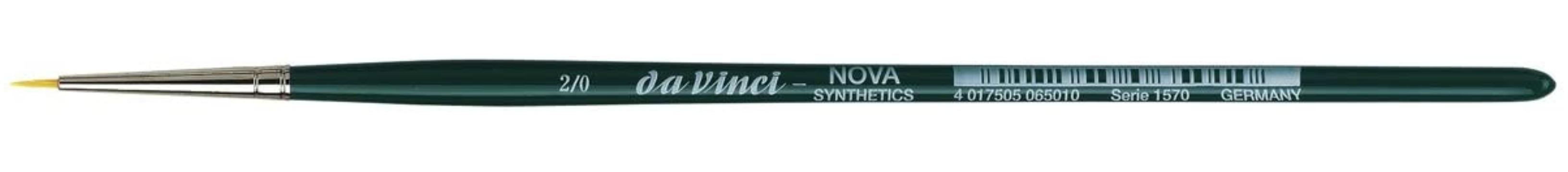 da Vinci NOVA Series 1570, hobby brush, finest golden synthetic fibre, Size:-2