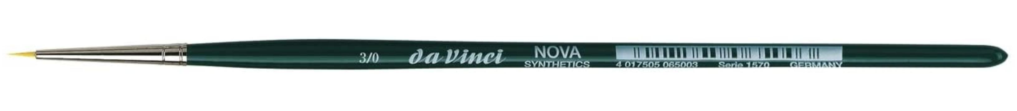 da Vinci NOVA Series 1570, hobby brush, finest golden synthetic fibre, Size:-3