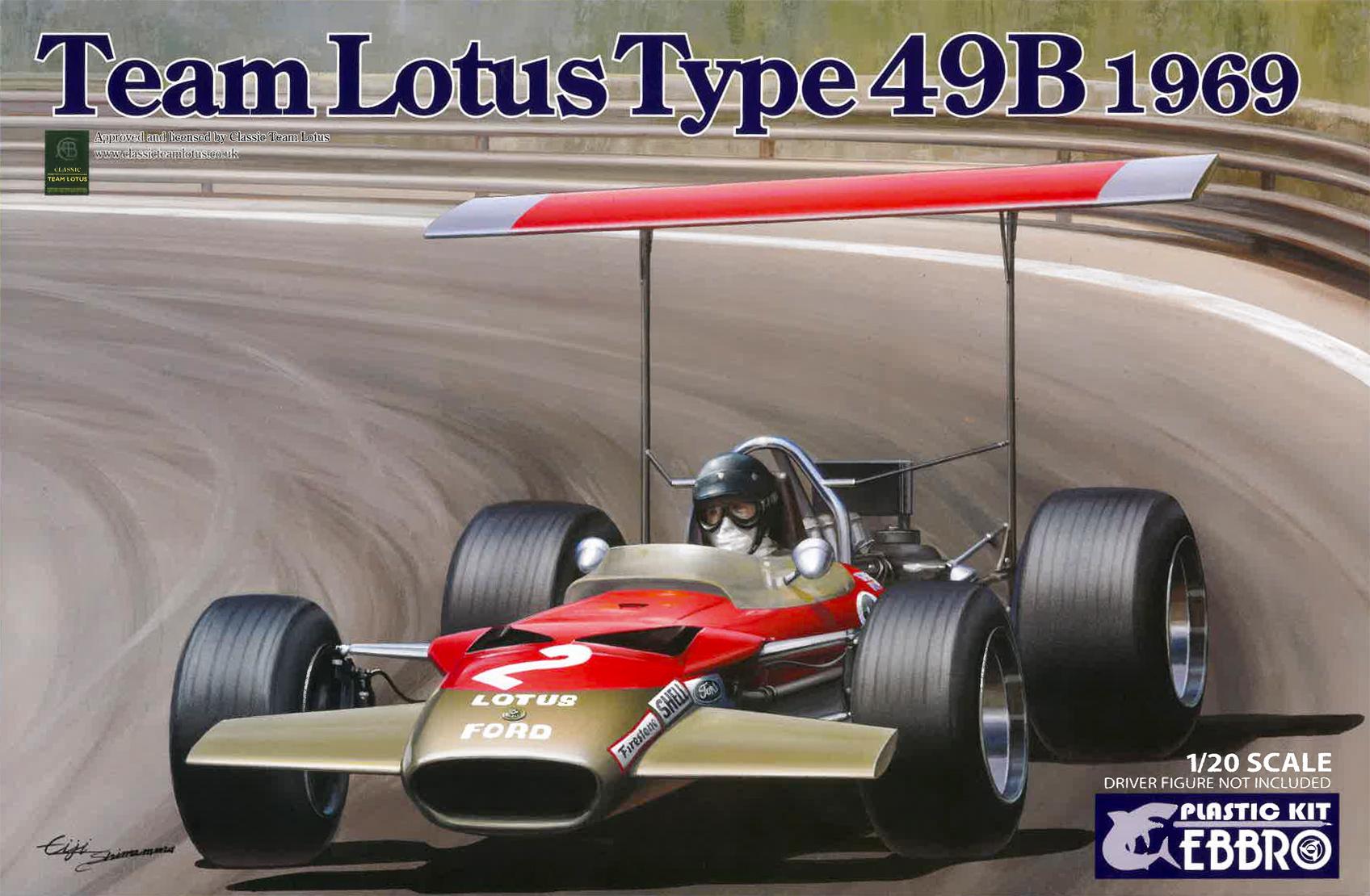 Ebbro Team Lotus 49B 1968