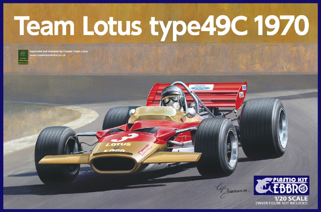 Ebbro 1/20 Team Lotus Type 49C 1970