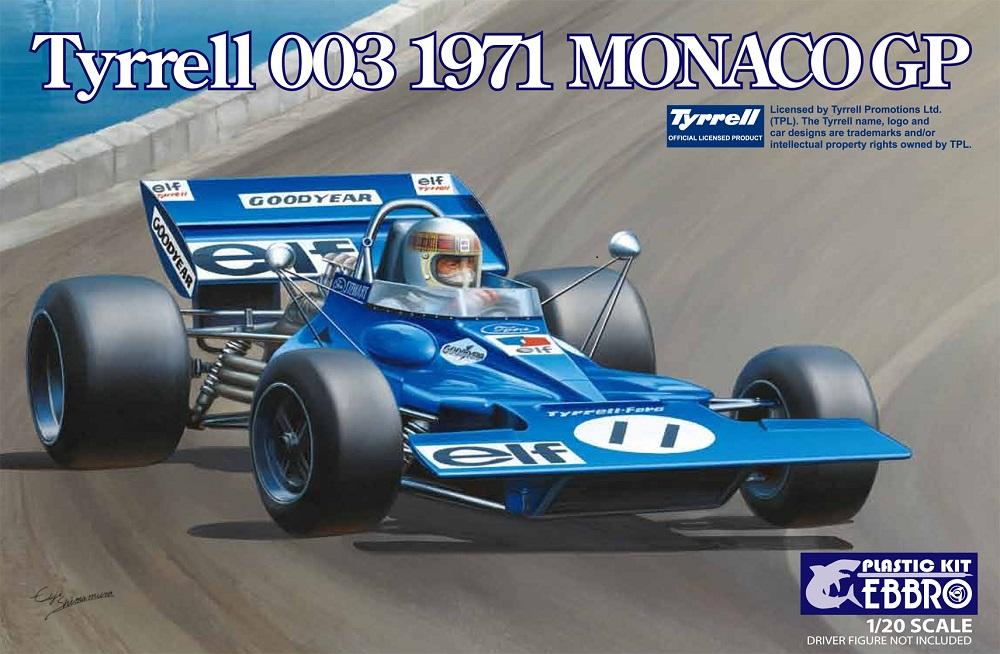 Ebbro Tyrrell 003 Monaco GP 1971