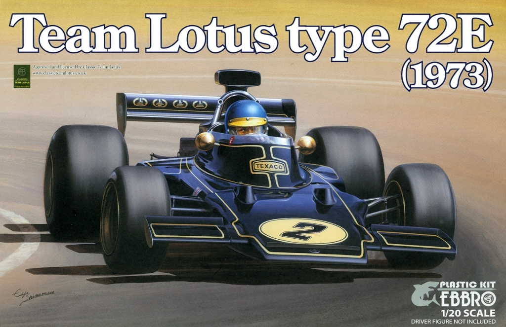 Ebbro Team Lotus Type 72E 1973