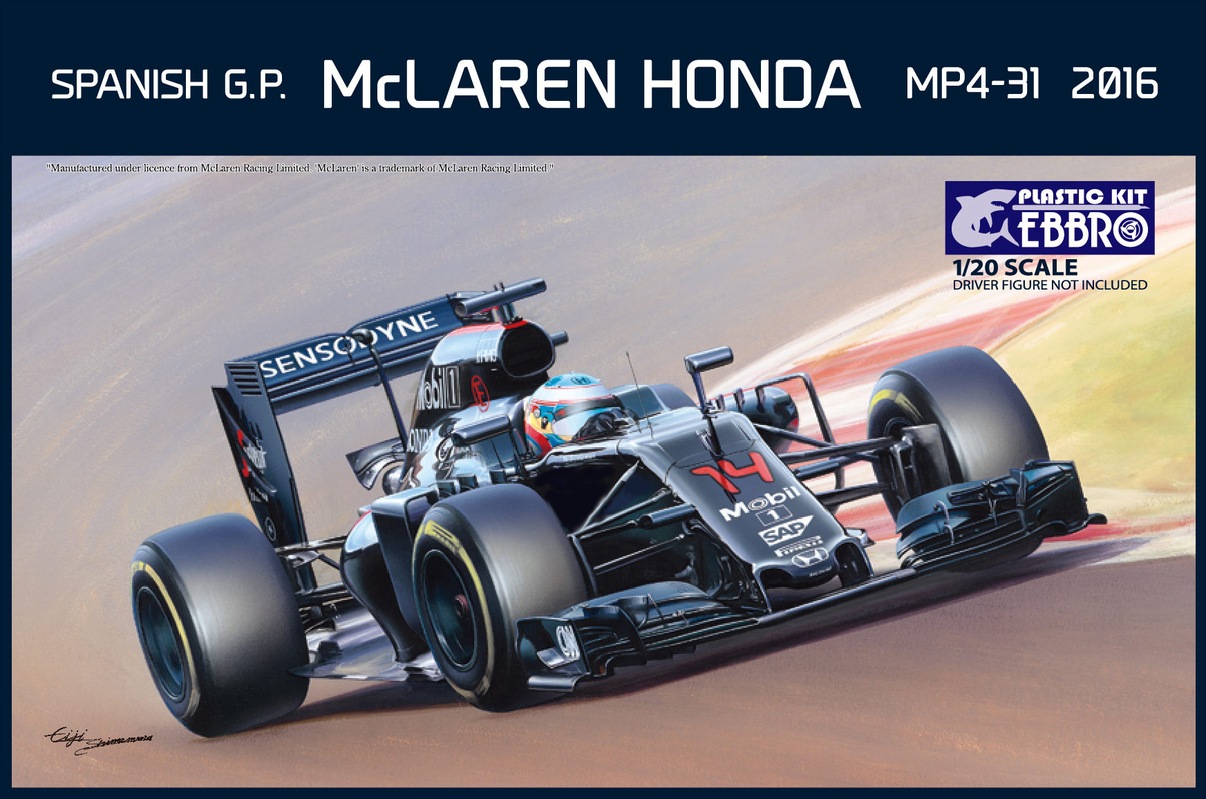 Ebbro McLaren Honda MP4-31 Spanish GP
