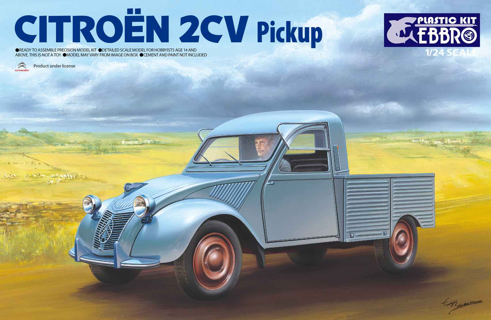 Ebbro Citoroen 2CV Pick Up