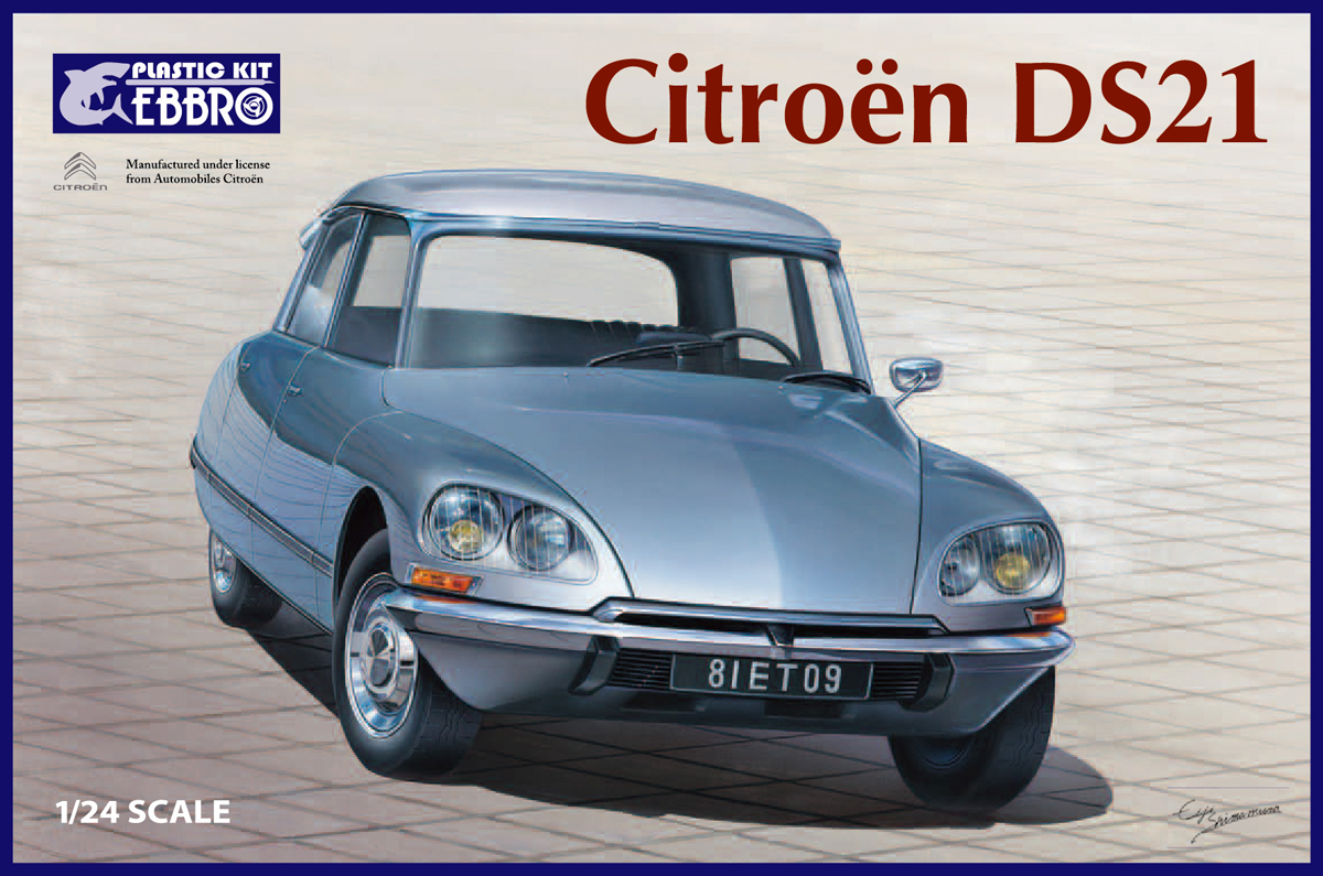 Ebbro 1/20 Citroen DS21
