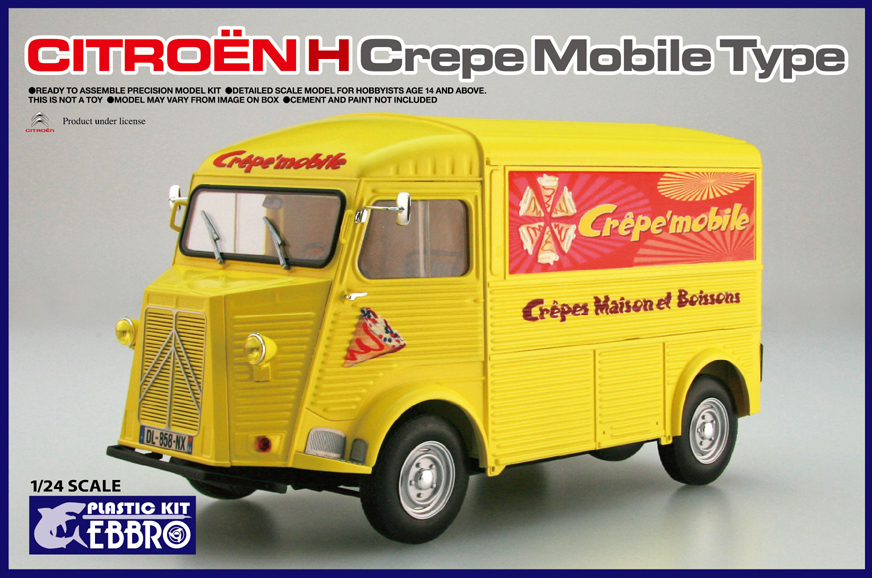 Ebbro Citroen H Crepe mobile Type