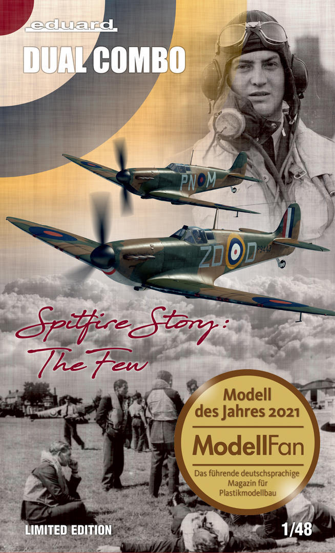 """Eduard 1/48 """"Spitfire Story: The Few"""" [Limited Edition Dual Combo]"""
