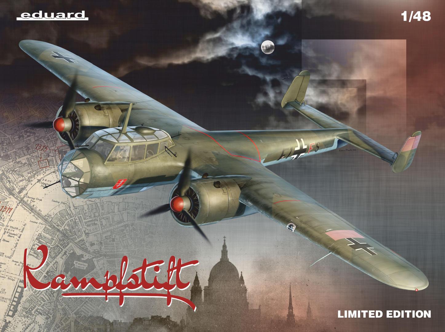 "Eduard 1/48 ""Kampfstift"" Dornier Do 17Z [Limited Edition]"