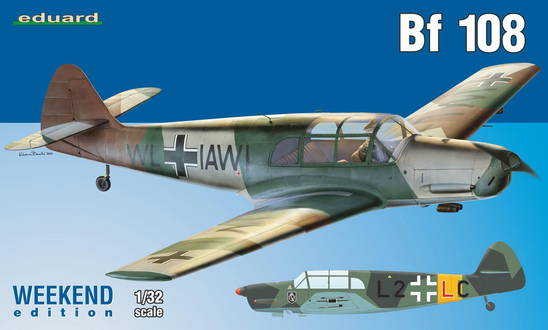 Eduard 1/32 Bf 108 [Weekend Edition]