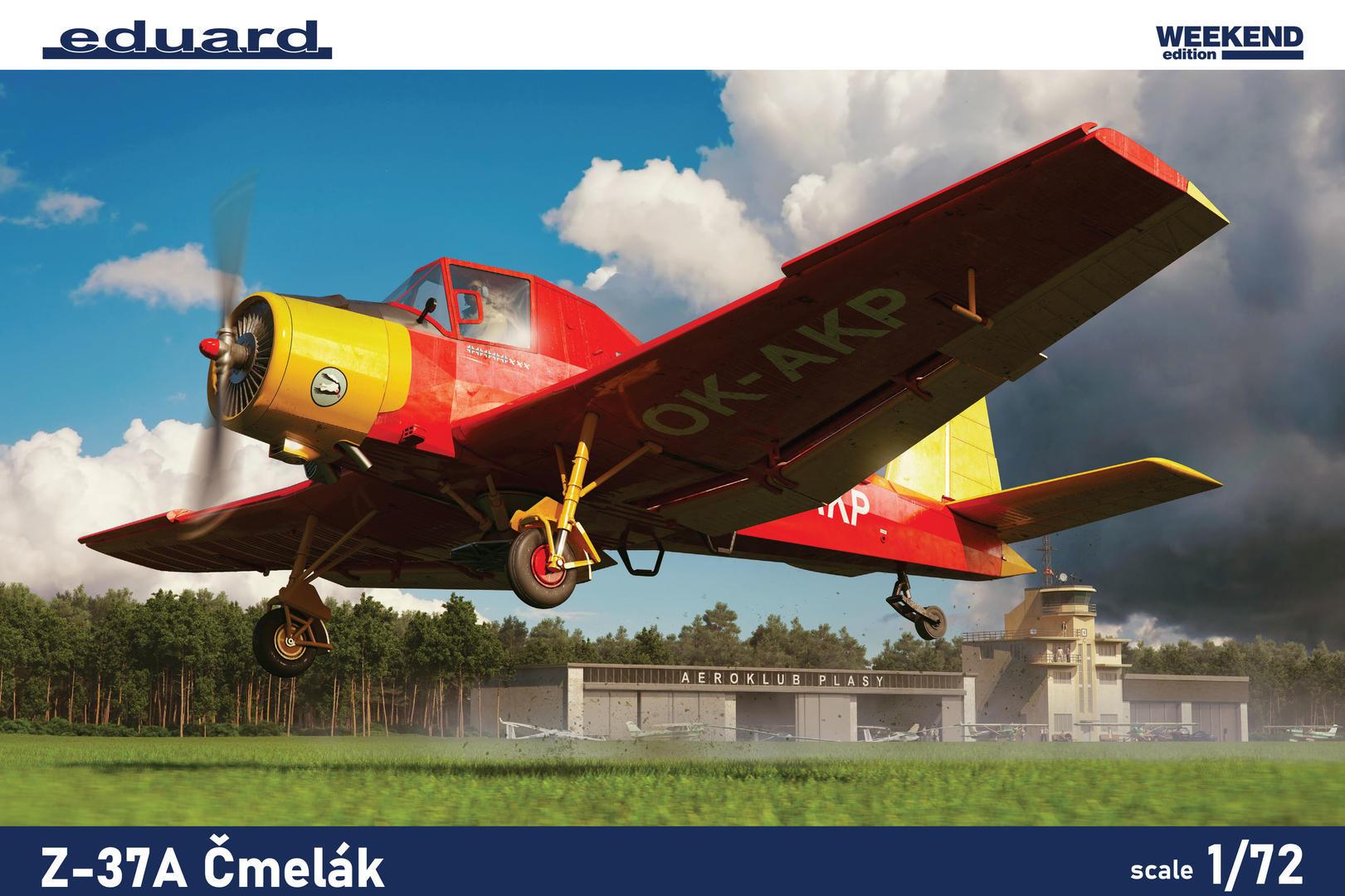 Eduard 1/72 Z-37A Cmelak [Weekend Edition]