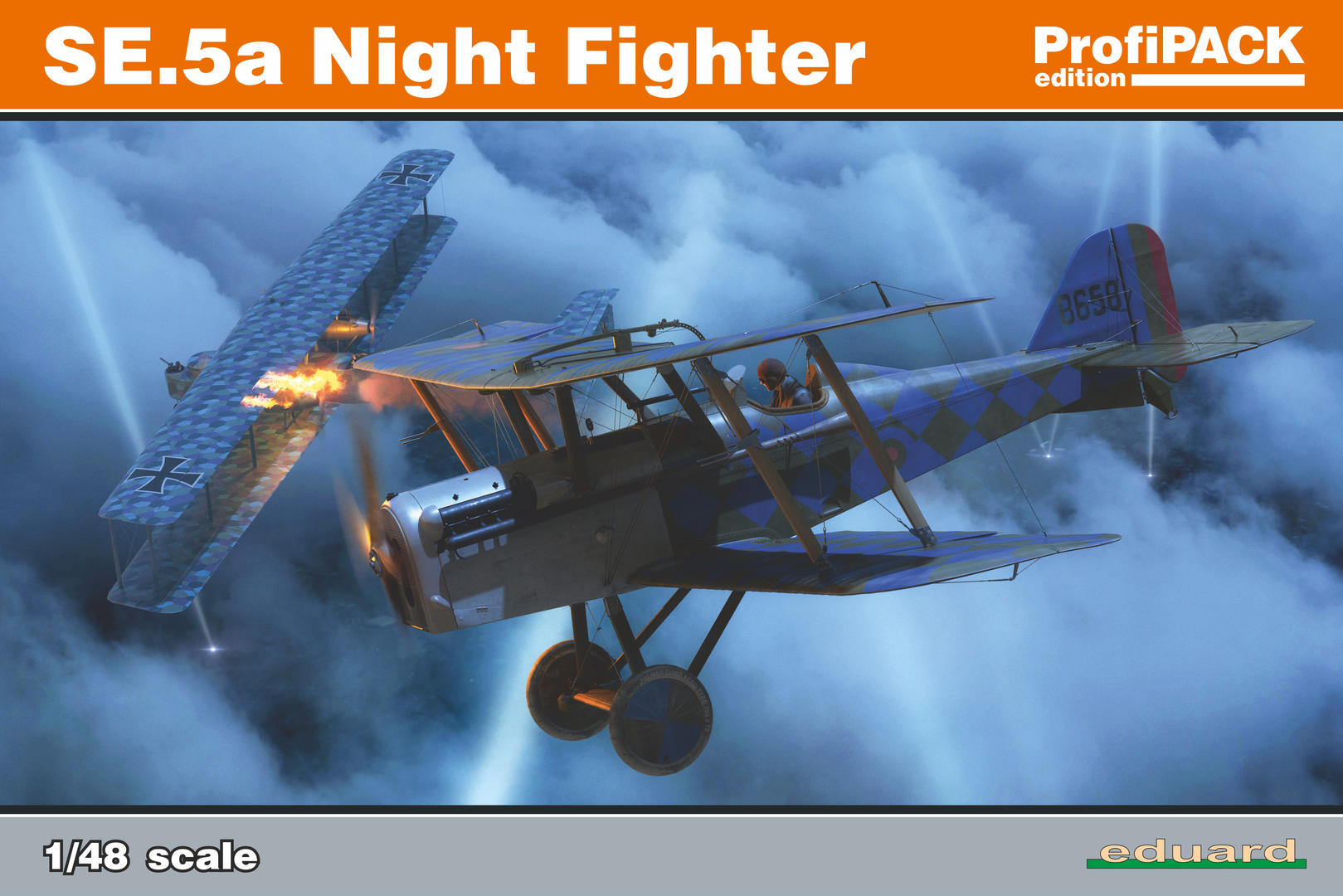Eduard 1/48 SE.5a Night Fighter [Profipack]