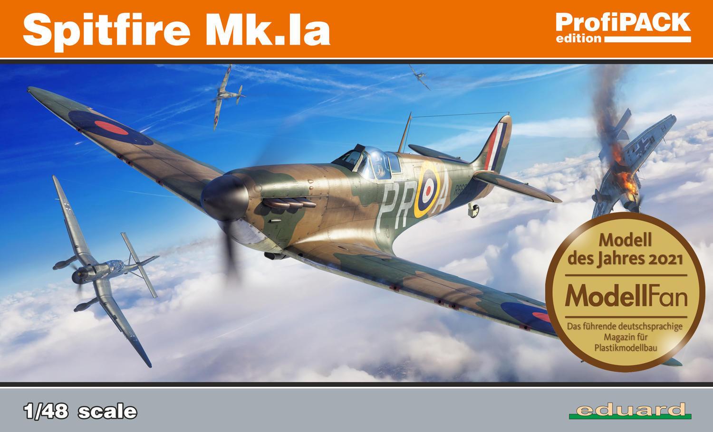 Eduard 1/48 Spitfire Mk.Ia [Profipack]