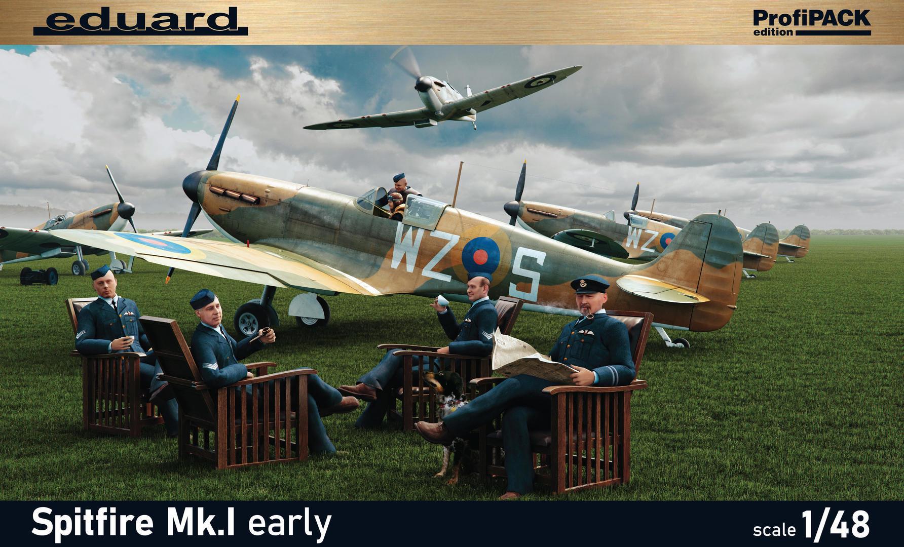 Eduard 1/48 Spitfire Mk.I early [Profipack]