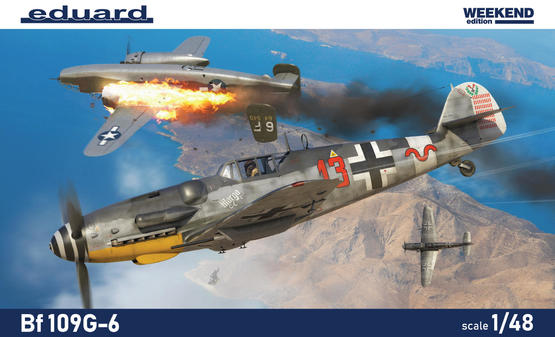 Eduard 1/48 Bf 109G-6 [Weekend Edition]