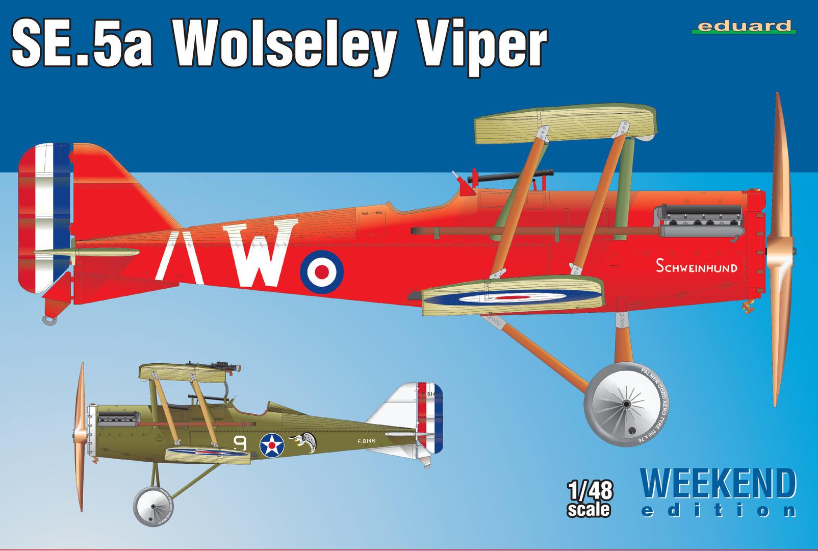 Eduard 1/48 SE.5a Wolseley Viper [Weekend Edition]