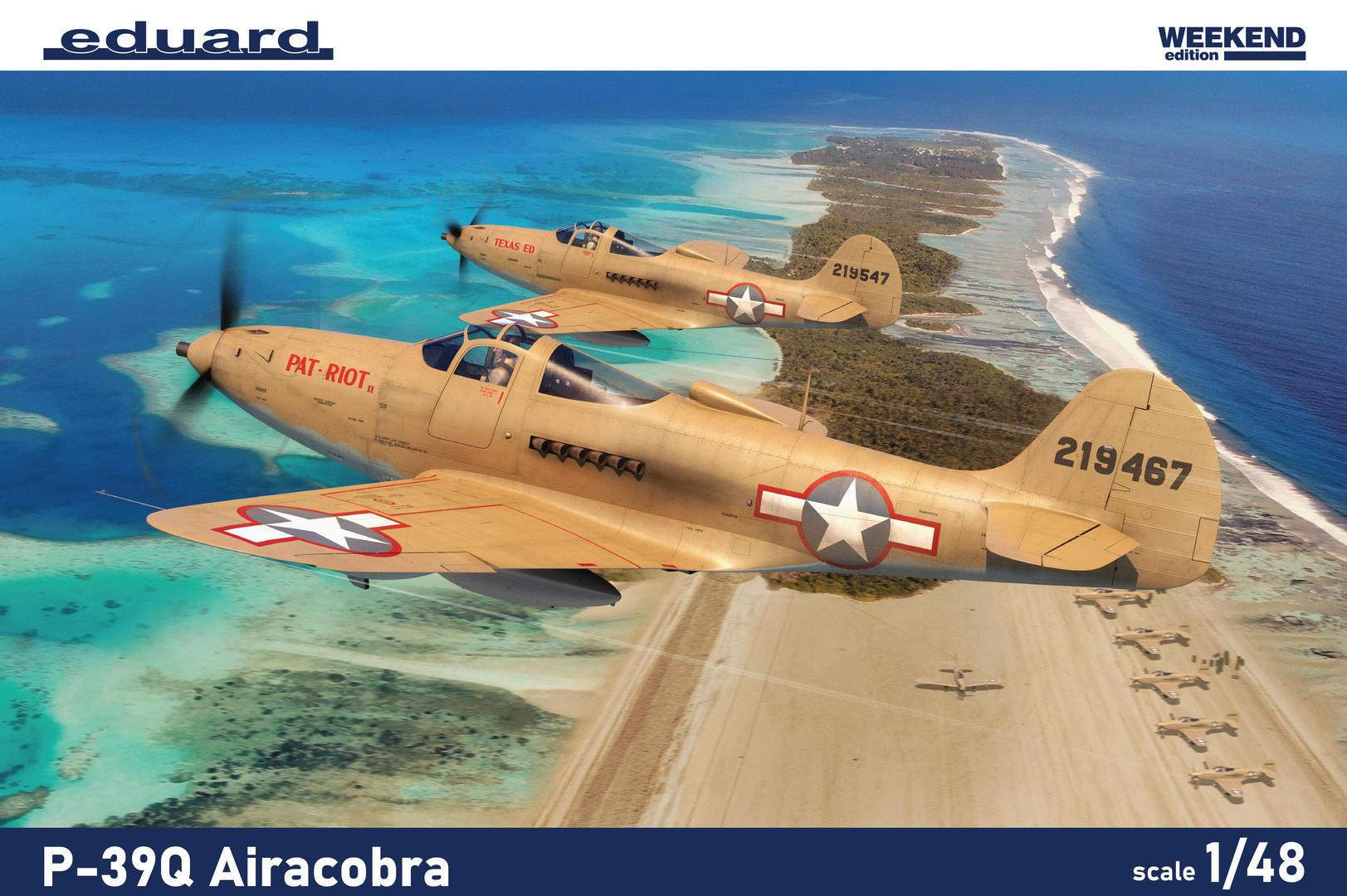 Eduard 1/48 P-39Q Airacobra [Weekend Edition]