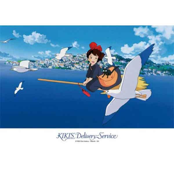 """Ensky 108 Pieces - 252 Kiki Saying Hello to Seagulls """"Kiki Delivery Service"""", Ensky Puzzle"""