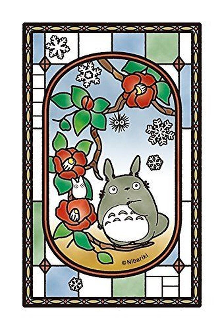 "Ensky 126-AC07 Petite Artcrystal Totoro Puzzle, ""My Neighbor Totoro"" Box of 6, Ensky Artcrystal Jigsaw"