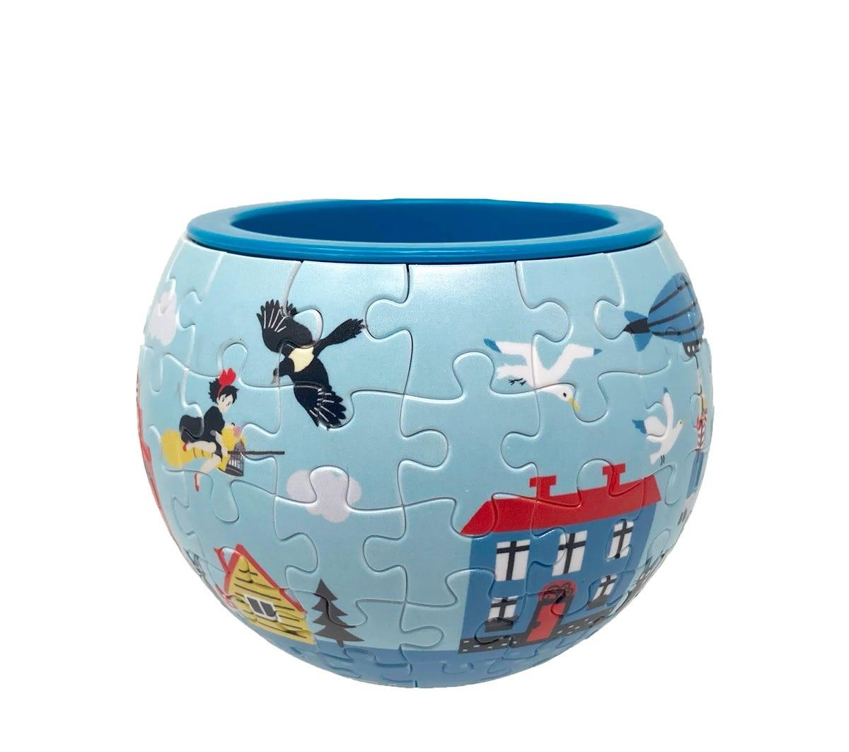 "Ensky Kiki Town of Koriko Puzzle Bowl ""Kiki's Delivery Service"", Ensky Art Bowl Jigsaw"