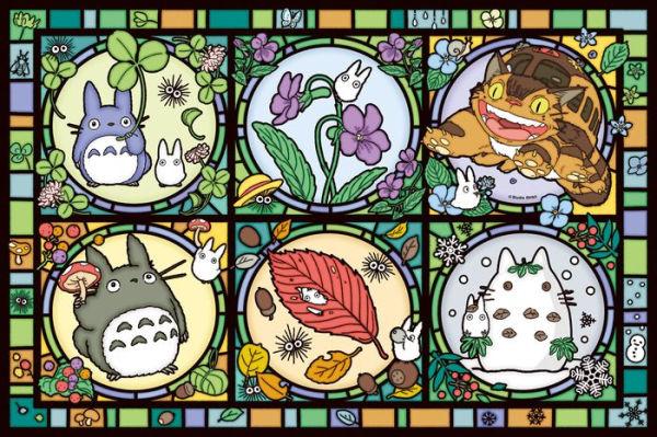 "Ensky 1000-AC012 Totoro Season's Tidings (Large) Artcrystal Puzzle ""My Neighbor Totoro"", Ensky Artcrystal Puzzle"