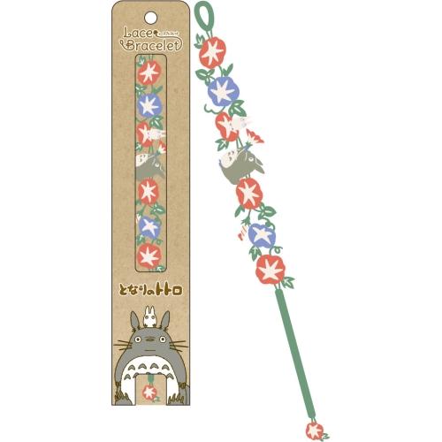 "Ensky Accessories Totoro Morning Glory Lace Bracelet/Bookmark ""My Neighbor Totoro"""